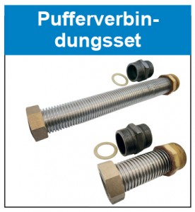 Pufferverbindungsset Button