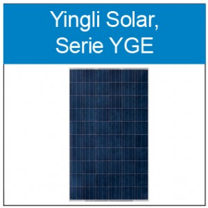 Yingli Solar YGE Button