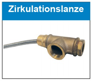Zirkulationslanze Button